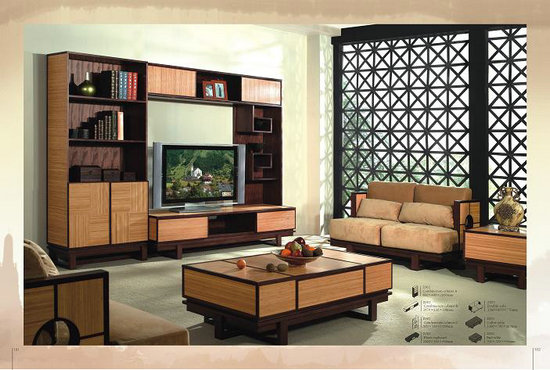 Modern Bamboo Wood Living Room Furniture