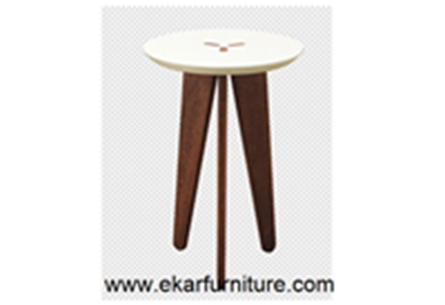 Modern End Table Round Ot834m Ot834g