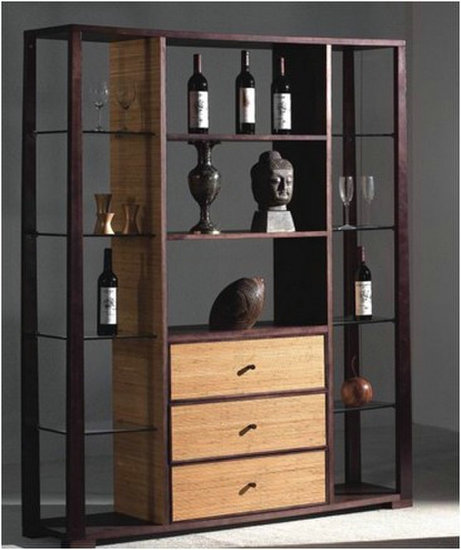 Modern Living Room Cabinet And Shelving Design