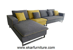 Modern Sofa Leather Set Sectional Yx289