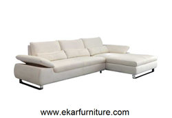 Modern Sofa White Leather Yx260