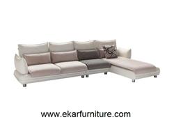 Modern Sofa White Leather Yx261