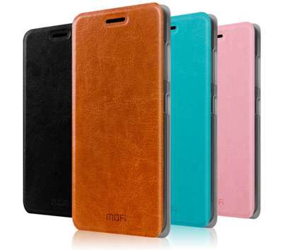 Mofi Huawei Honor 6 Plus Flip Pu Leather Case Slim Cover Protective Cases