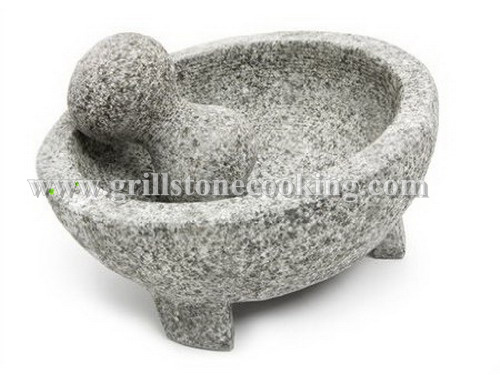 Molcajete Mexican Authentic Kitchen Tool For Grinding 8 X4 25