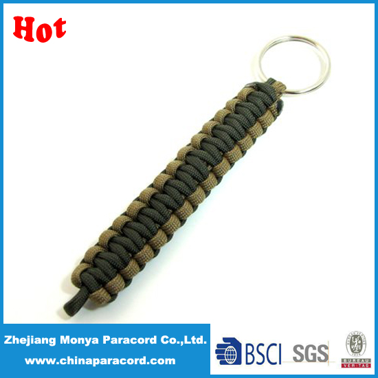 Monya 2 Colors Weave Paracord Keychain