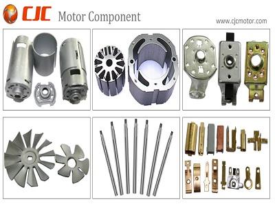 Motor Component Shaft Bracket Terminal Fan