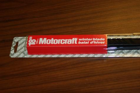 Motorcraft Winter Wiper Blades 1 50 Each