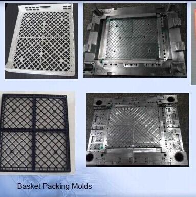 Moulds For Basket Packing