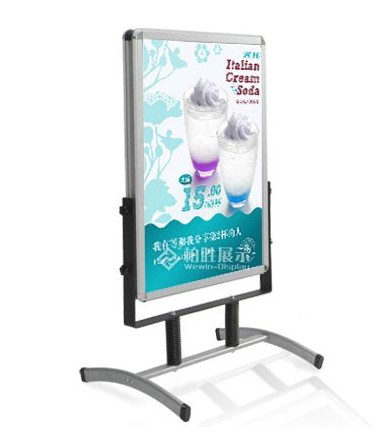Movable Poster Stand Outdoor