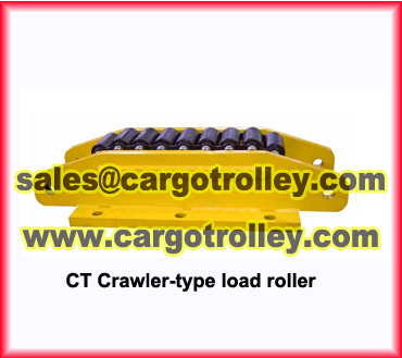 Moving Roller Skids With Crawler Type Ct Model