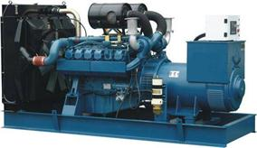 Mp German Man Series Diesel Generator Set