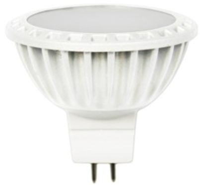 Mr16 30 Or 120deg White Finish Cri80 6w 12vac Dc 480 430lm Led Spotlight Warmwhite Coldwhite