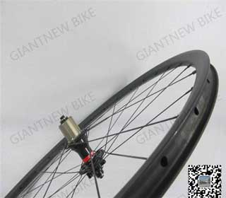Mtb Carbon Wheels 23mm Clincher With External Or Internal Nipple