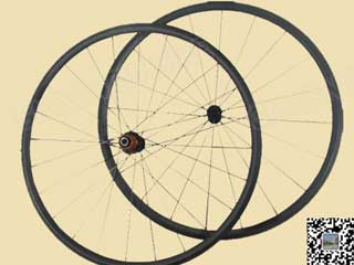 Mtb Carbon Wheels 25mm Clincher With Skewers And Brake Pads Spare Part