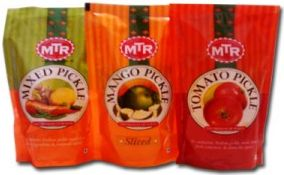 Mtr Pickles For Export