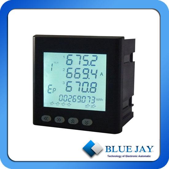 Multi Function Lcd Display Power And Energy Meter