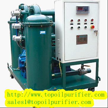 Multi Function Vacuum Lubricating Oil Purifier Purification Recycling Regeneration Filtering Machine