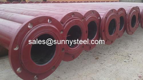 Multi Resistant Ceramic Lined Composite Pipe