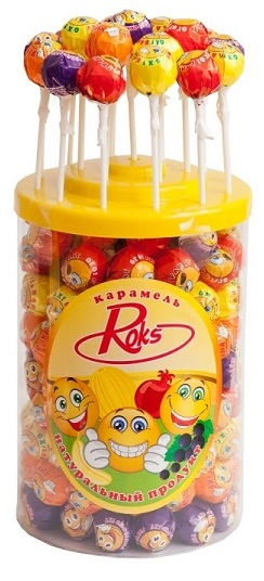 Multifruit Lollopop Hard Candy Lollies