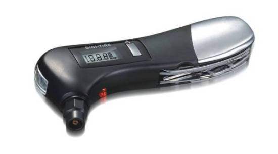 Multifunctional Tire Measurement Flashlight Electronic Gift Item E006 6405