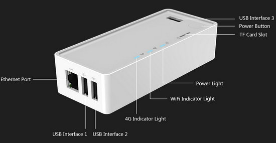 Multiple App Installer Installing Device With Wifi Power Bank Flashbot Fb W03