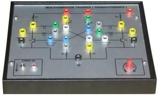 Multivibrator Trainer Transistorised Tla707