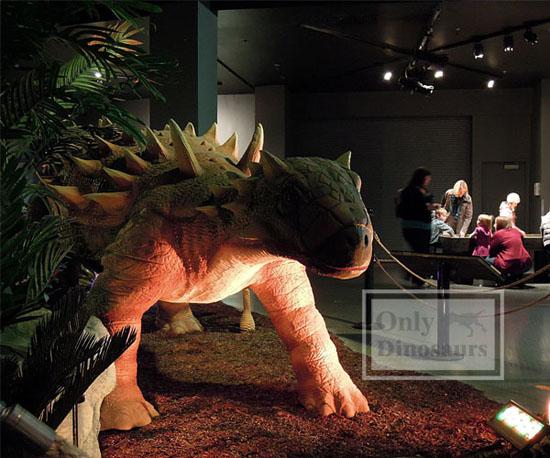 Museum Quality Life Size Walking Animatronic Dinosaur