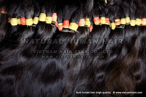Natural Color Can Be Dye Human Hair Weaving