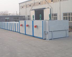 Natural Gas Coal Glass Annealing Furnace Wlq Rts
