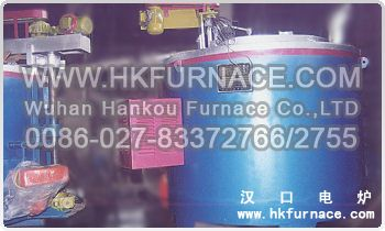 Natural Gas Crucible Aluminium Melting Furnace
