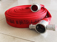 Natural Rubber Lined 65mm Fire Hose