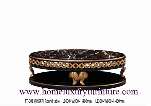 Neo Classical Furniture Coffee Table Marble China Supplier Tt 001