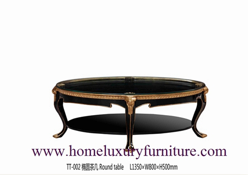 Neo Classical Furniture Coffee Table Marble Price Wooden Tt 002