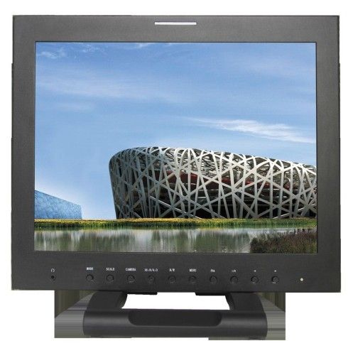 New Arrival Feelworld 15 4 3 3g Sdi Broadcast Monitor With Peaking Focus Built In Speaker