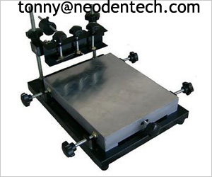 New Cheap And Easy Operate Manual Stencil Printer