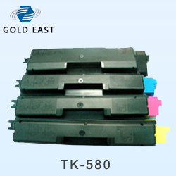 New Compatible Kyocera Mita Tk 580 C M Y K Laser Printer Toner Cartridges Manufacturer