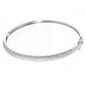 New Design 925 Sterling Silver Bangle Bracelets Jewelry