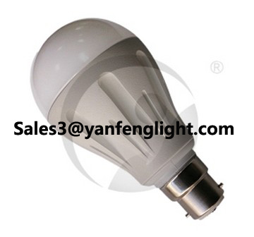 New Design B22 Led White Color Bulb Lamp 7w 9w 12w