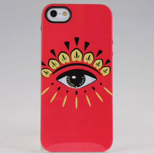 New Design Kenzo Eyephone Hard Tpu Case For Iphone 5 5s