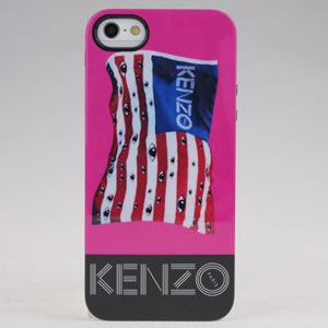 New Design Kenzo National Flag Style Hard Tpu Case For Iphone 5 5s
