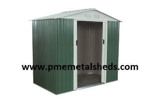 New Garden Sheds Apex Metal 6 X 8 Ft Pmemetalsheds For Sale