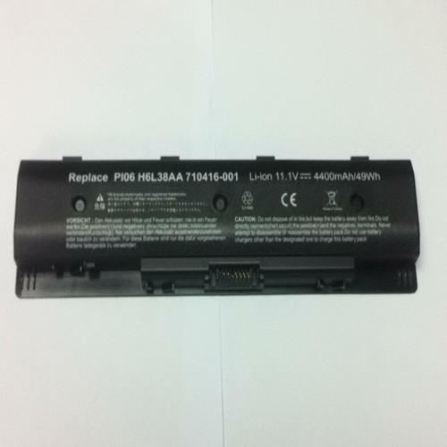New Good Quality Notebook Laptop Battery Replacement For Hp Pi06 6 Cells 4 400mah