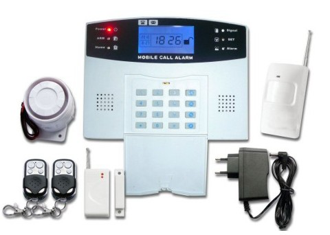 New Gsm Wireless Alarm System With Color Lcd Screen Jc G02