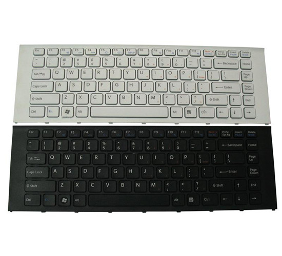 New Laptop Keyboard For Sony Vpceg21 Eg18 Eg46 Eg23yc Eg18e Black Or White