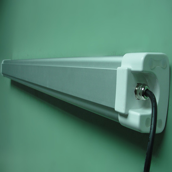 New Led Tri Proof Light All In One Replace Fluorescent Tube Fixture 2 T8 1200mm 40w 1500cd 4000lm R