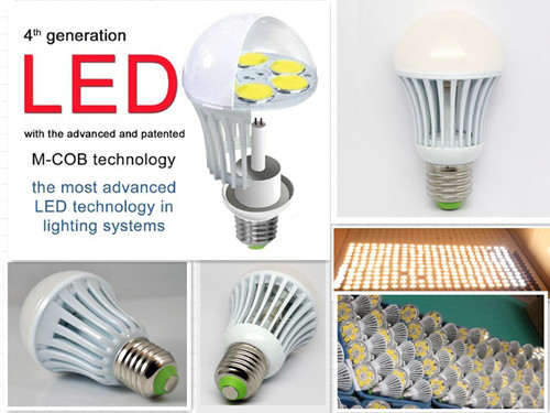 New Lighting System High Power Mcob Led E27 Bulb 4w 5 5w Indoor 100lm W