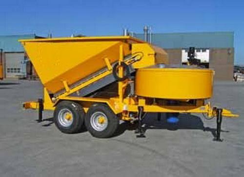 New Mobile Concrete Plant B 2200
