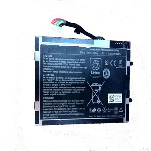 New Model Li Ion Laptop Battery Replacement For Dell Alien Ware M11x Pt6v8 14 8v Voltage