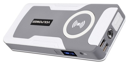 New Model Of Wireless Charger Car Jump Starter