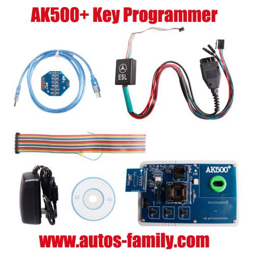 New Released Mercedes Benz Ak500 Key Programmer With Database Hard Disk